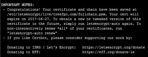 Cron自动续期命令失效导致网站SSL证书到期的解决方案 3