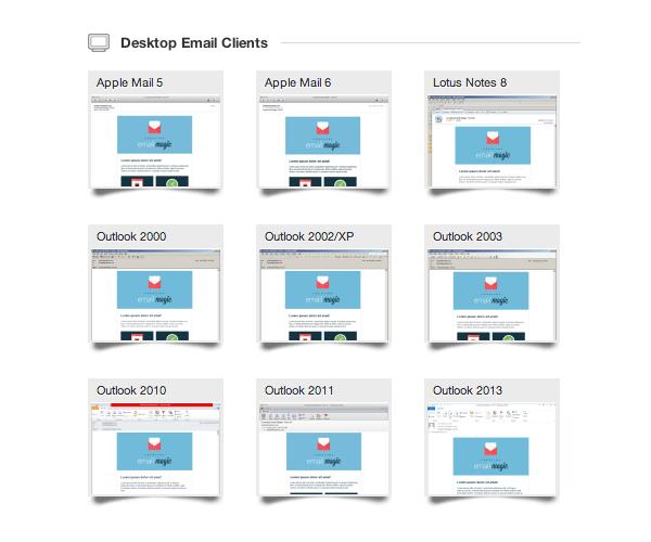 编写图文并茂的HTML邮件模板