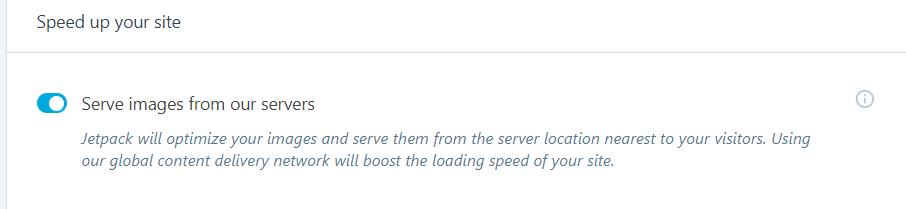 WordPress Jetpack免费设置CDN图片加速