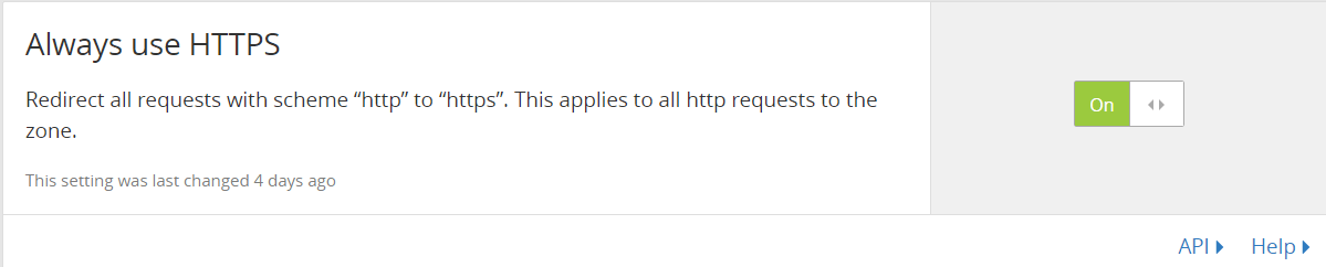 Cloudflare免费ssl证书设置
