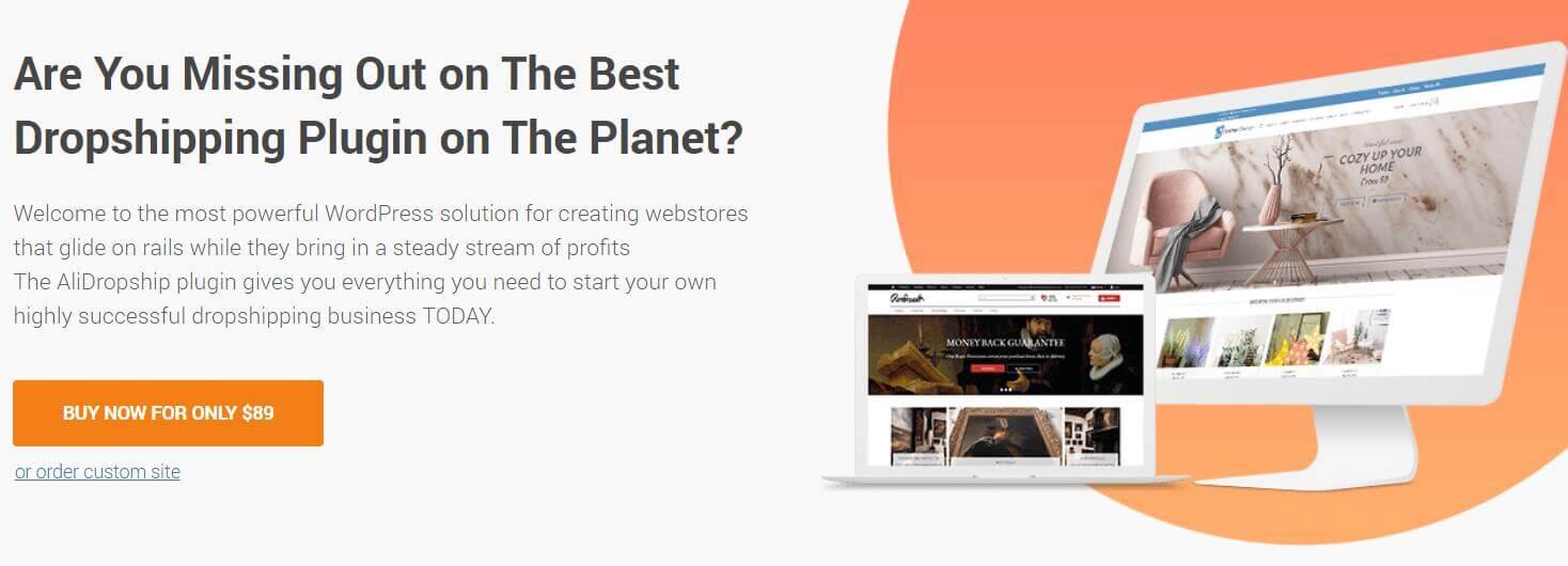 AliExpress产品导入您的WordPress Woocommerce商店 1