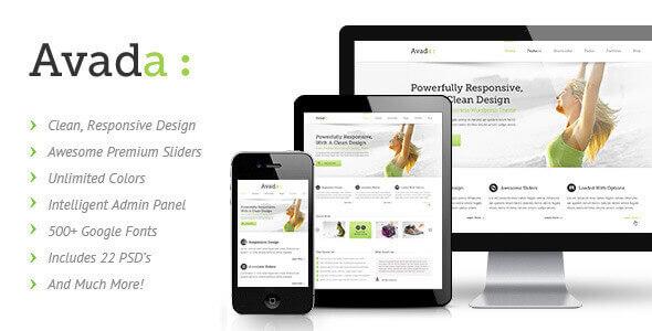 WordPress Avada 多用途企业主题免费下载