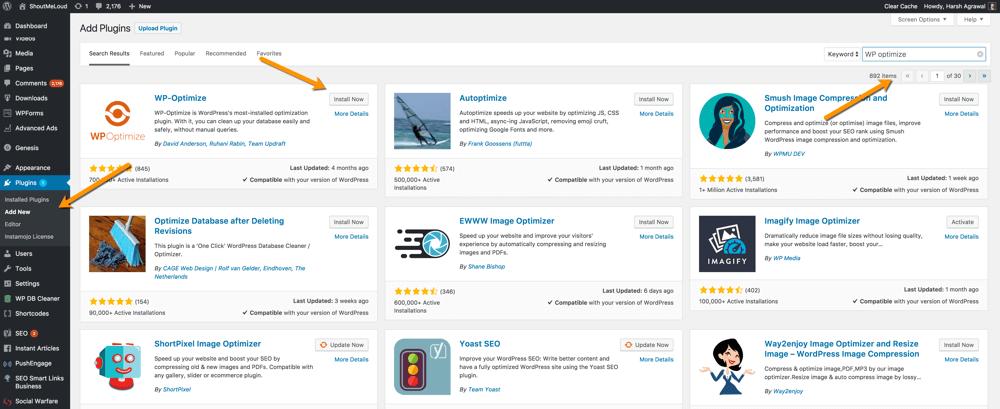 安装WordPress插件的3种方式和使用