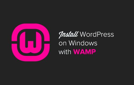 在WAMP上安装WordPress