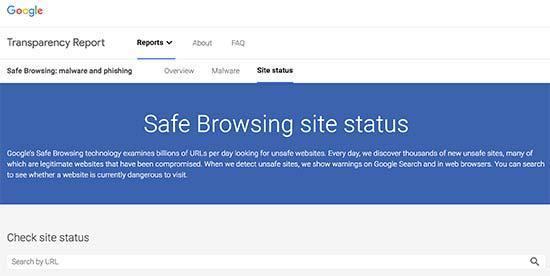 谷歌安全浏览