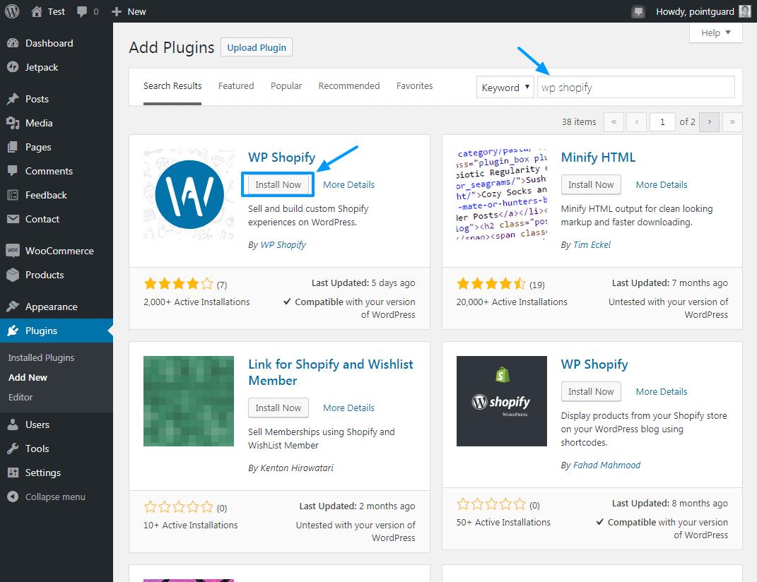 使用WP Shopify将Shopify产品添加到WordPress 4