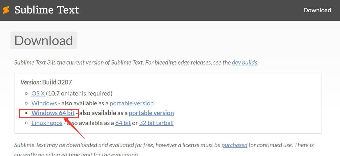 Sublime下载及安装教程