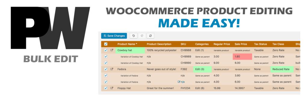 WordPress批量修改WooCommerce产品插件
