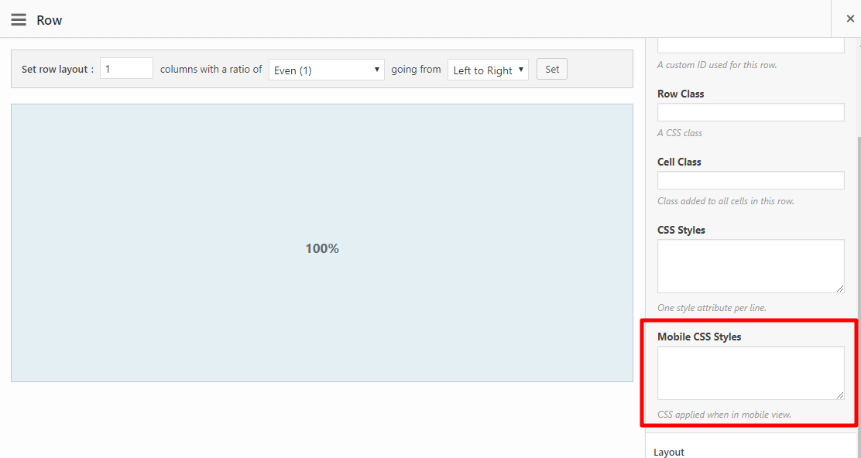 SiteOrigin页面构建器小部件移动端禁止显示CSS