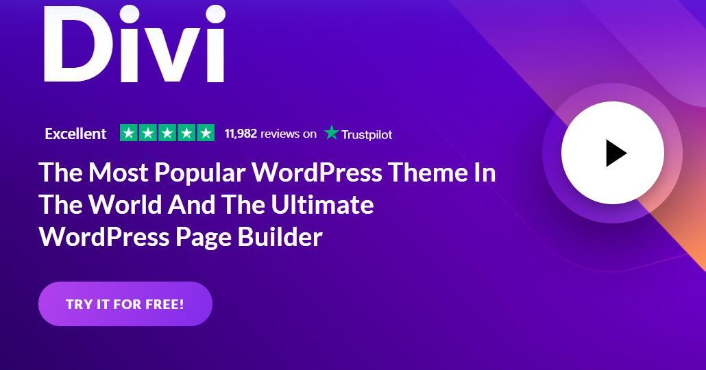 Divi builder设计页眉菜单栏Header演示模板